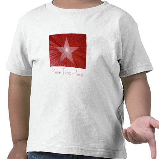 Red Star 'Your Text' kid's t -shirt