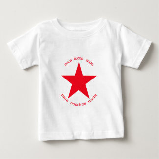 Red Star Zapatista Infant T-shirt