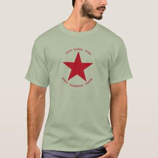 Red Star Zapatista T-Shirt