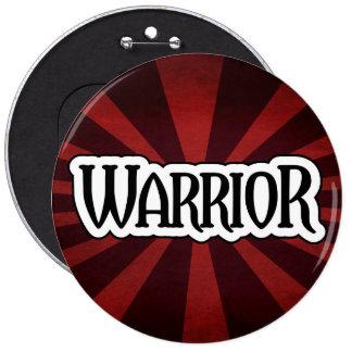Red Starburst Warrior Button