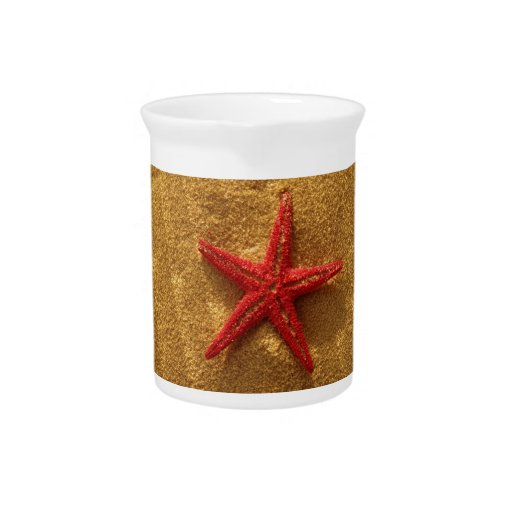 red starfish pitcher