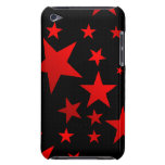 RED STARS!!! BARELY THERE iPod COVERS