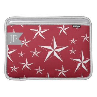 """Red Stars Durable MacBook Air 11"""" Sleeve Sleeves For MacBook Air"""