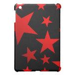 RED STARS!!! iPad MINI CASE