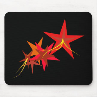 Red Stars Mousepad