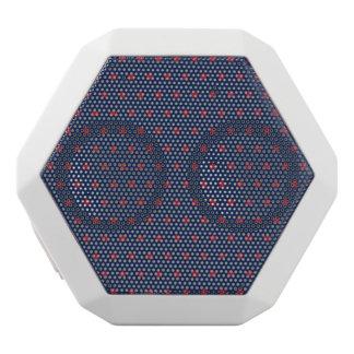 Red Stars on Patriot Blue White Boombot Rex Bluetooth Speaker