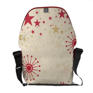 Red Stars & Satellites Rickshaw Messenger Bag