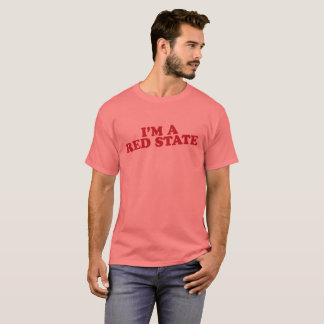 """""""Red State"""" T-Shirt"""