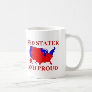 Red Stater and Proud Coffee Mug