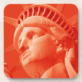 Red Statue of Liberty Coaster