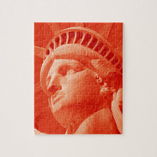 Red Statue of Liberty Puzzle