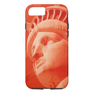 Red Statue of Liberty Tough iPhone 7 Case