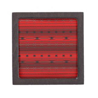 Red Steel Wires Premium Trinket Box