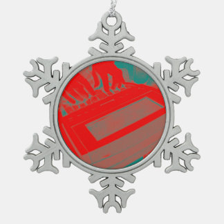Red Steno Court Reporting Christmas Holiday Ornament