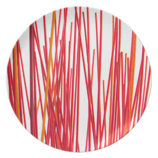 Red Sticks Plate