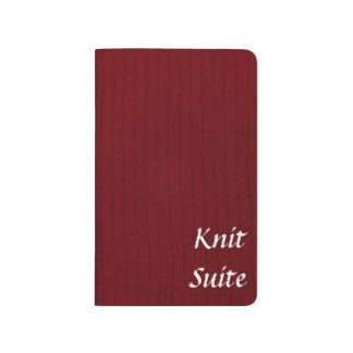 Red Stockinette Journal