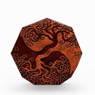 Red Stone Yin Yang Tree Awards