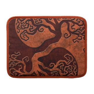 Red Stone Yin Yang Tree MacBook Air Sleeve