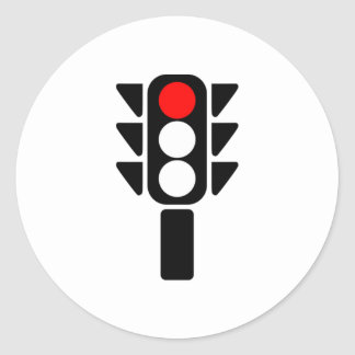Red Stoplight Stickers