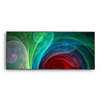 Red Storm Abstract Art #10 Envelope