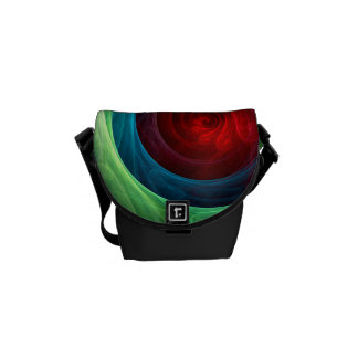 Red Storm Abstract Art Mini Bag