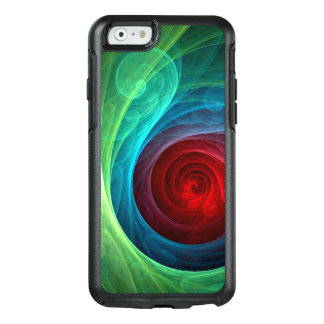 Red Storm Abstract Art OtterBox iPhone 6/6s Case