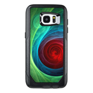 Red Storm Abstract Art OtterBox Samsung Galaxy S7 Edge Case