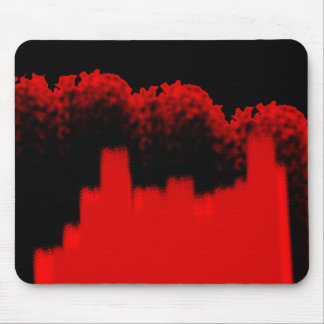 Red Storm Approaching City Mouse Pad