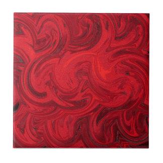 Red Storm Ceramic Tile