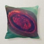 Red Storm gigantesco en el planeta Saturn Almohada