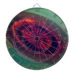 Red Storm gigantesco en el planeta Saturn Tabla Dardos