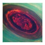 Red Storm gigantesco en el planeta Saturn Lona Envuelta Para Galerias