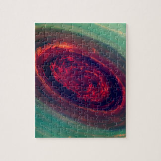 Red Storm gigantesco en el planeta Saturn Puzzles Con Fotos