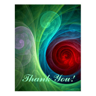Red Storm Thank You Postcard