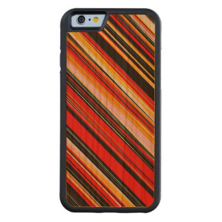 RED STRATA ~ CARVED® CHERRY iPhone 6 BUMPER CASE