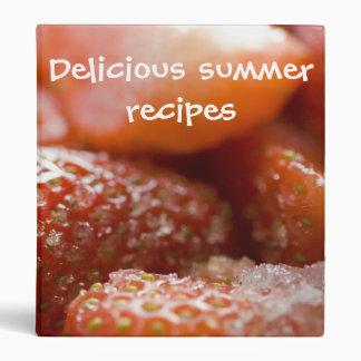 Red strawberries binder