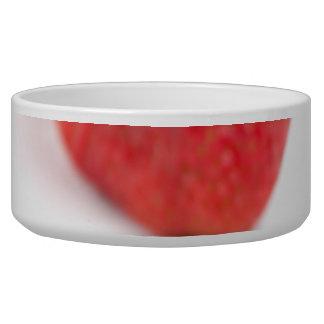 Red Strawberries Bowl