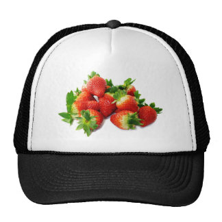 Red Strawberries Hat