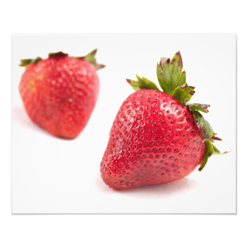 Red Strawberries Photo Print