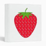 Red Strawberry. Binders