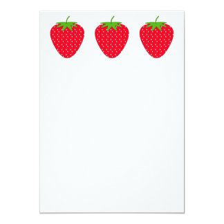 Red Strawberry. Card