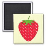 Red Strawberry. Fridge Magnets
