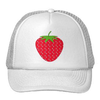 Red Strawberry. Hats
