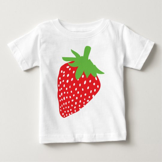 red strawberry icon baby T-Shirt