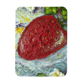 Red Strawberry Magnet