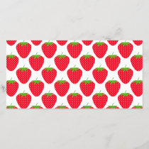 Red Strawberry Pattern.