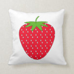 Red Strawberry. Pillows