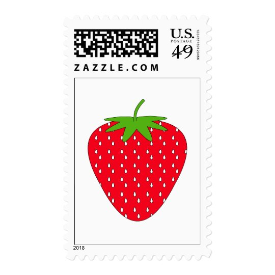 Red Strawberry. Postage