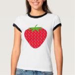 Red Strawberry. Tee Shirt