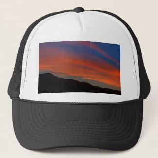 Red Streak Sunset Trucker Hat